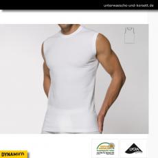 Muscle Shirt mit Rundhals