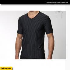 T-Shirt, V-Neck aus Microfaser